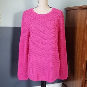 OLD NAVY WAFFLE KNIT CREW NECK SWEATER SIZE XL